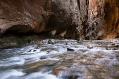 The Narrows in Zion NP Royalty Free Stock Image