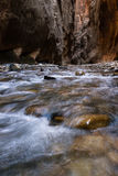 The Narrows in Zion NP Stock Photo