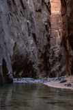 The Narrows in Zion NP Stock Images
