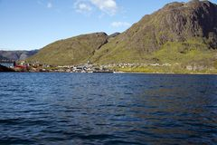 Narsaq (Greenland) obrazy stock