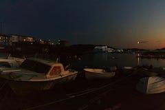 Narsaq port Obrazy Royalty Free