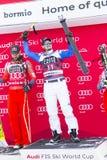 narta puchar świata 28 Bormio Włochy, Audi FIS Grudnia 2017 - zdjęcie stock