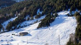 Narta w górach Soldeu, Andorra Zdjęcia Royalty Free
