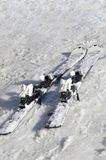 Narty na śniegu Zdjęcie Stock