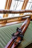 narty przeżyte Zdjęcie Royalty Free