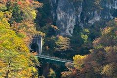 Naruko Gorge Miyagi Tohoku Japan Stock Photo