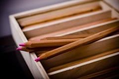 Narural crayons Royalty Free Stock Image