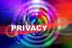 Naruszenie Prywatności royalty ilustracja