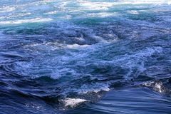 Naruto whirlpools in Pacific ocean, Osaka, Japan Royalty Free Stock Photo