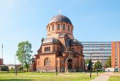 Narva эстония воскресение christ собора Стоковые Изображения RF