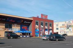 Narva Estónia Casino Fama olímpico Imagens de Stock Royalty Free