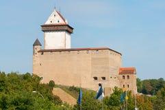Narva. Estonia. Hermann Castle Royalty Free Stock Images