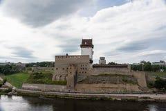 Narva-Festung Lizenzfreie Stockfotografie