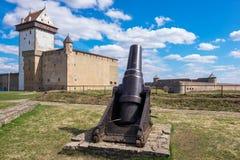 Narva fortress. Estonia, EU Stock Images