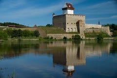 Narva Herman Castle Royalty-vrije Stock Afbeeldingen