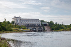Narva Hydroelectric Station Stock Photos