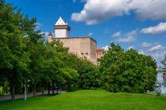 Narva kasztel. Estonia fotografia royalty free