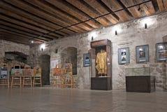 Narva l'Estonie Musée de château de Narva image libre de droits