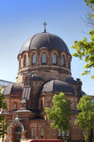 The Narva Voskresensky Cathedral, orthodox temple. Narva. Estonia.  Stock Photo