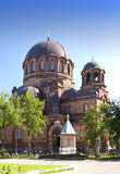 The Narva Voskresensky Cathedral, orthodox temple. Narva. Estonia Stock Photography