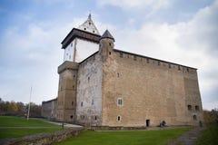 narva zamek Estonia Zdjęcie Royalty Free