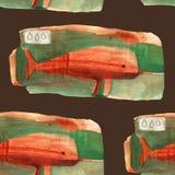 Narval da aquarela Imagem de Stock Royalty Free