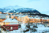 Narvik City Norway Stock Images