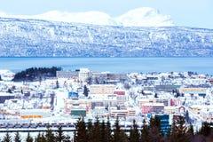 Narvik Cityscape Royalty Free Stock Photos
