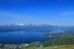 Narvik Harbour View Royalty Free Stock Images