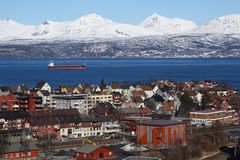 NARVIK, NORWAY DAY TRIP. Abisko day activity Royalty Free Stock Photos