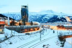 Narvik Town Square Stock Photos