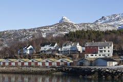 Narvik von der Unterseite Stockfoto