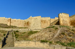 Naryn-Kala fortress in Derbent. Republic of Dagestan, Russia Stock Photos