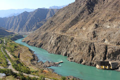 Naryn River Royalty Free Stock Image
