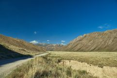 Naryn River Valley image libre de droits
