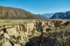 Naryn River Valley images stock