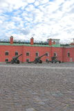 Naryshkin bastion of Peter and Paul Fortress Stock Photo