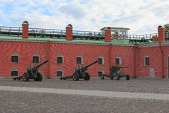 Naryshkin bastion of Peter and Paul Fortress Stock Image