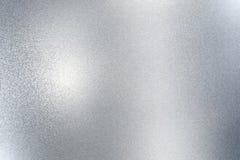 Narysu metalu stara srebna ściana, abstrakcjonistyczny tekstury tło ilustracja wektor