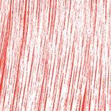 Narysu nakreślenia grunge czerwień i biel tekstura Abstrakta kreskowy vecto royalty ilustracja