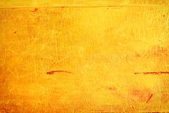 Narysy na kruszcowym złocistym tle Obraz Royalty Free