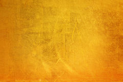 Narysy na kruszcowym złocistym tle Zdjęcie Stock