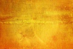 Narysy na kruszcowym złocistym tle Zdjęcie Royalty Free