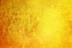 Narysy na kruszcowym złocistym tle Zdjęcia Stock