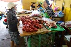 Narządzania mięso w Hoi Obrazy Stock