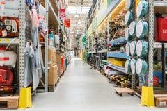Narzędzi I naczyń Hypermarket Zdjęcie Stock