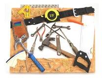 narzędzi ramowi narzędzi Obraz Stock