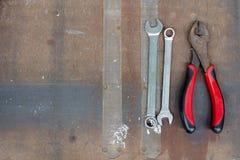 Narzędzia backgroundภ¡, wyposażenia tło, narzędzia protestuje, equ Obrazy Royalty Free