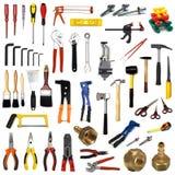 narzędzia białe tło Zdjęcia Stock