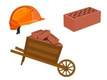 Narzędzia budowniczy Set również zwrócić corel ilustracji wektora obrazy stock